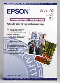 Epson Watercolor Paper Radiant White