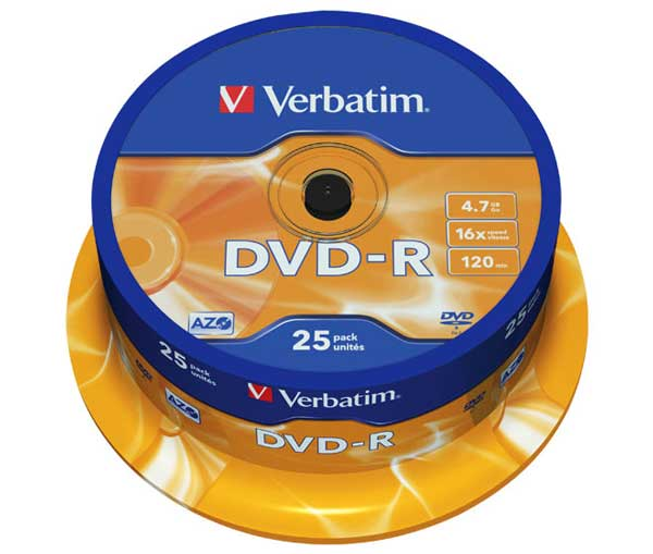 DVD-R  16X Speed