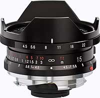 Super Wide Heliar 15 mm / 4,5 Asph.