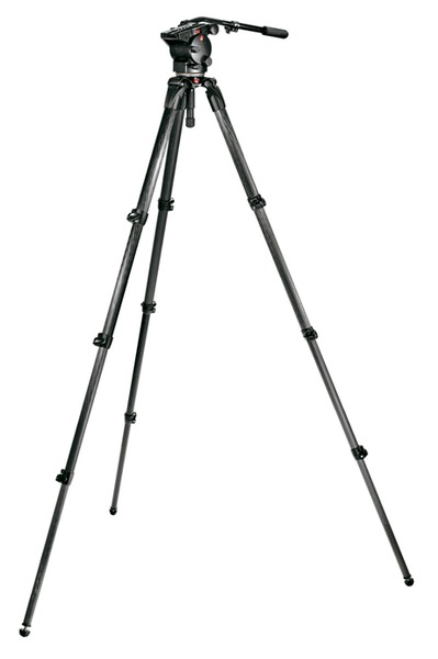 Manfrotto Set: 526 Neiger, 536 Stativ