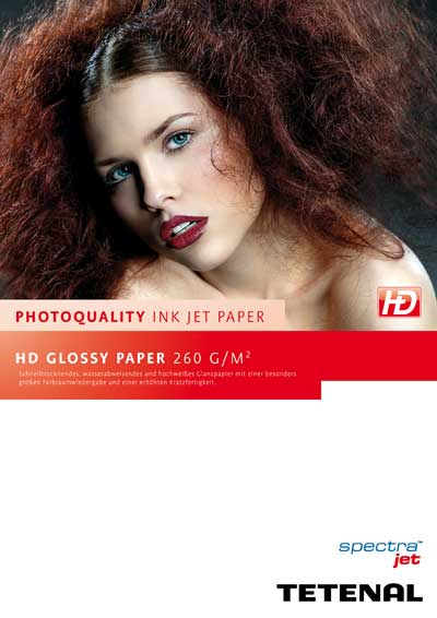 Spectra Jet HD Glossy Paper 260g