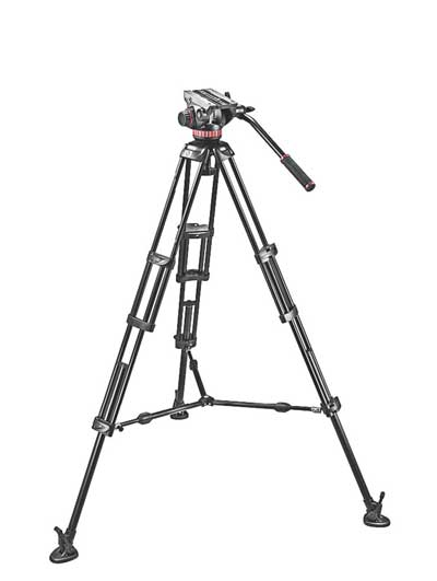 Manfrotto Video Stativset MVH502A, 546BK