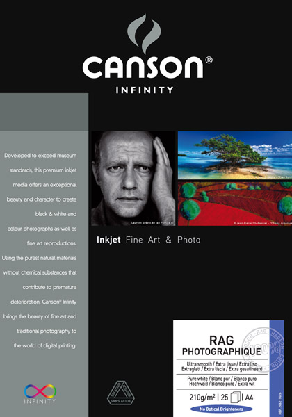 Canson Rag Photographique DUO 220 g/gm