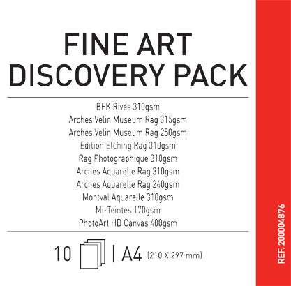 Canson Discovery Pack Fine Art