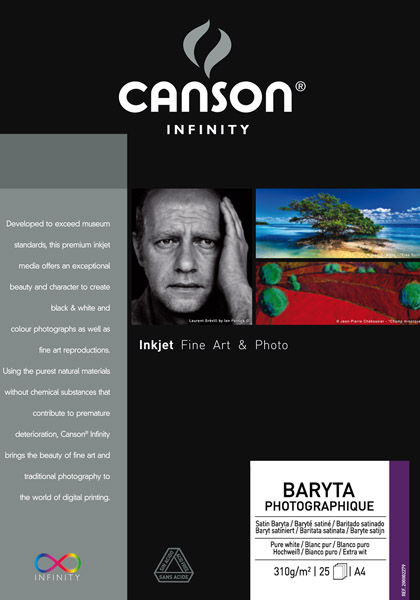Canson Baryta Photographique 310 g/qm