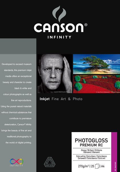 Canson PhotoGloss Premium RC 270 g/qm