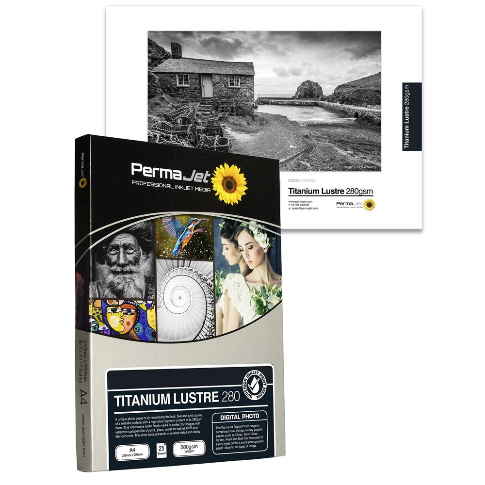 PermaJet Titanium Lustre Metallic 280