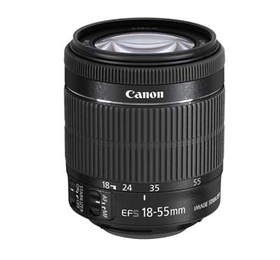 Canon EF-S 18-55mm / 3,5-5,6 IS STM
