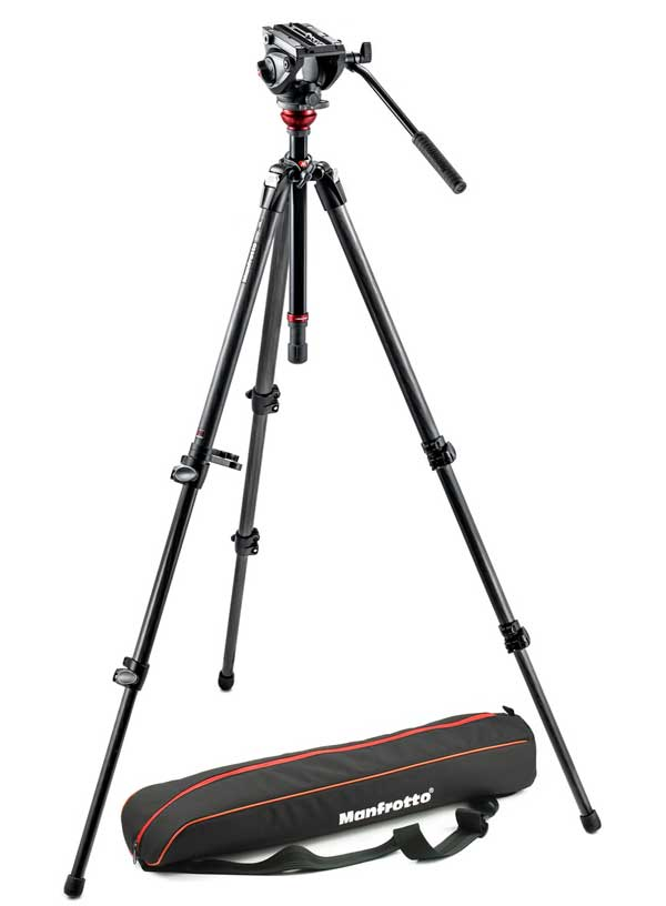 Manfrotto Stativ-Set MVH500AH,755CX3