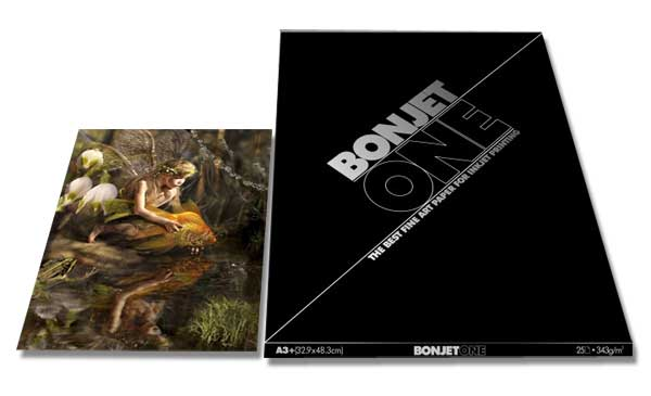 Bonjet ONE Fine Art Satin Inkjet Paper