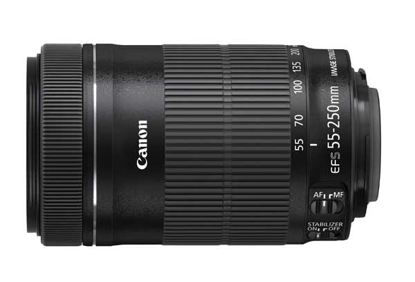 Canon EF-S 4-5,6 / 55-250 mm IS STM