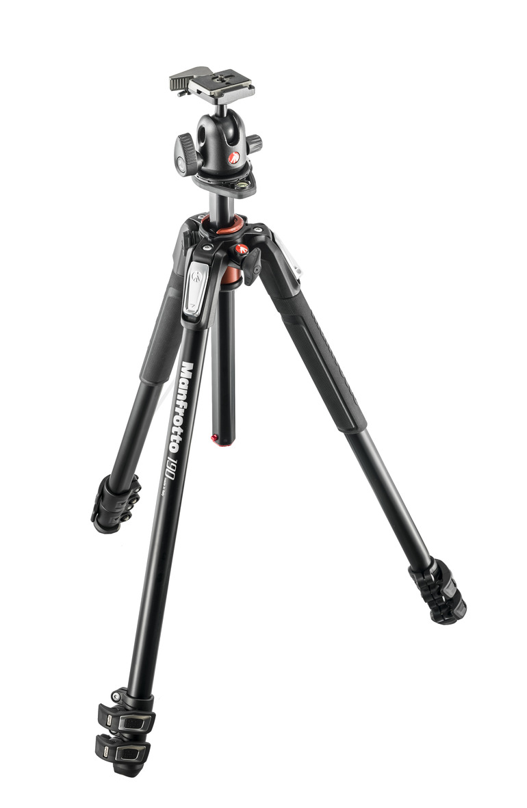 Manfrotto 190 Stativ Set MK190XPRO3-BH