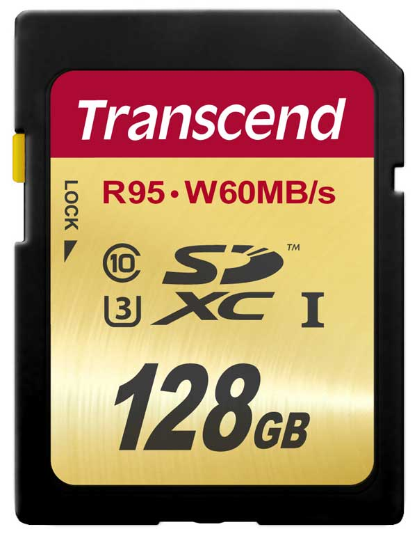 Transcend SDXC High Speed U3 UHS-1