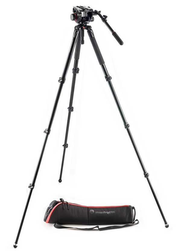 Manfrotto Alu-Video-Stativset MVK504AQ
