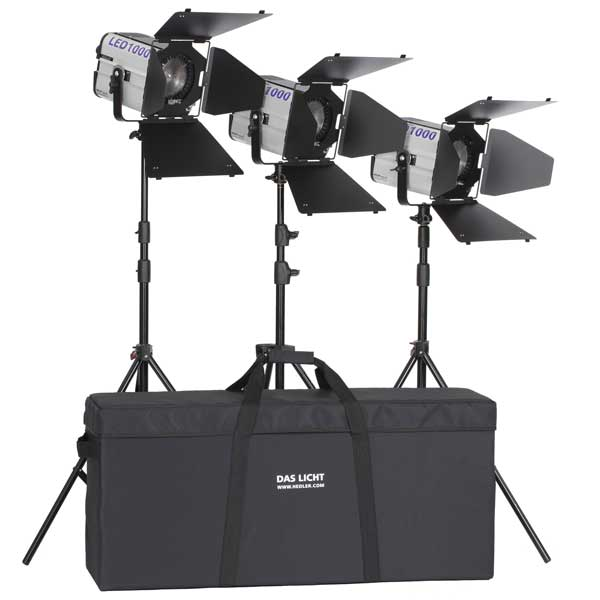 Hedler® Profilux Triple Kit LED 1000