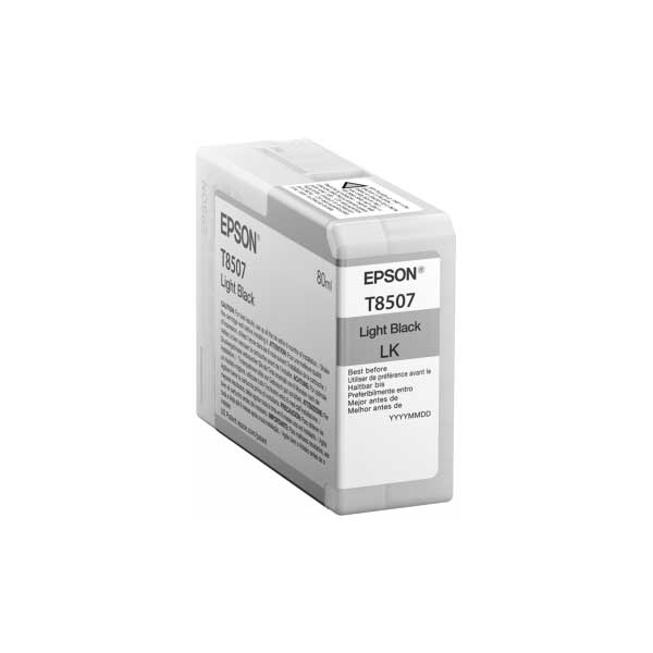 Epson Tinte T8507 Light Black 80 ml