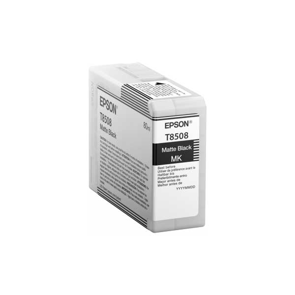 Epson Tinte T8508 Matt Black 80 ml