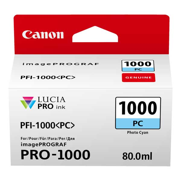 Canon PFI-1000 PC photocyan