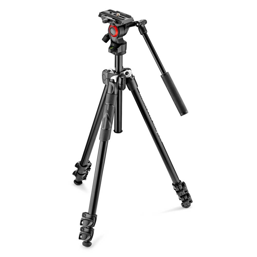 Manfrotto 290 Light Kit mit MVH400AH