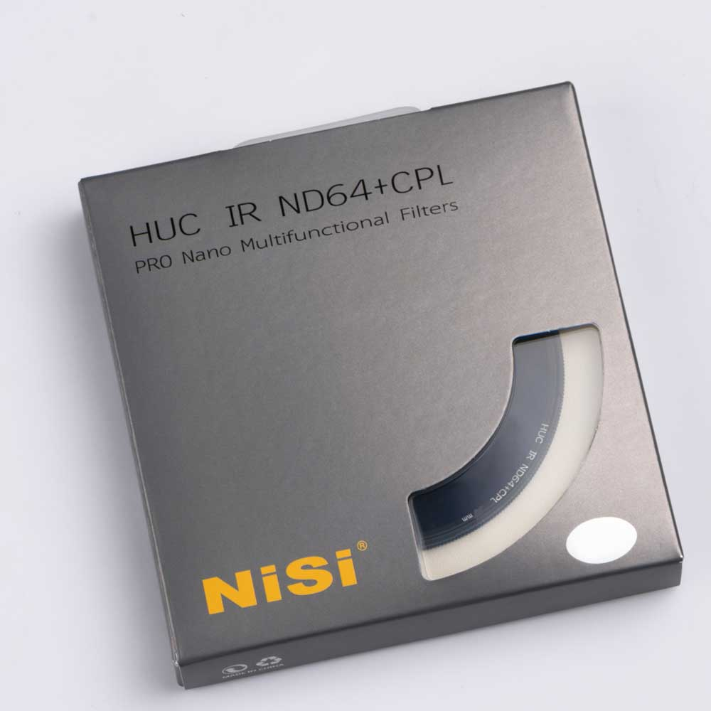 NiSi HUC Pro Nano IR ND64 + CPL 2in1-Filter