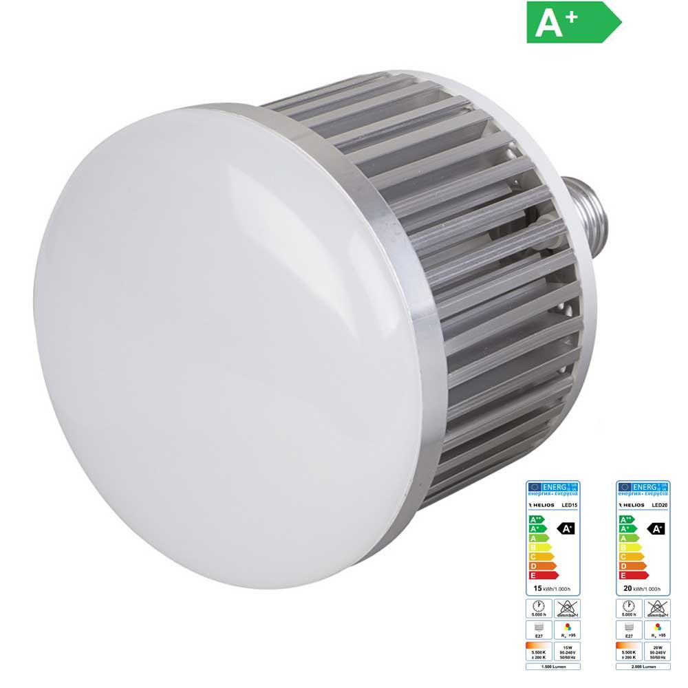 Helios LED Leuchtmittel mit E27 Gewinde