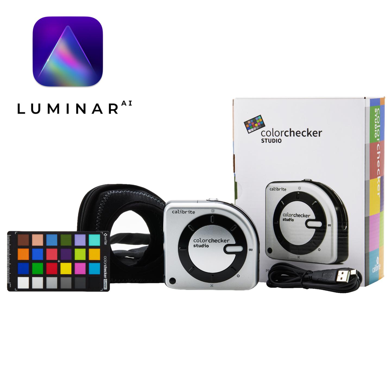 Calibrite ColorChecker Studio + Luminar