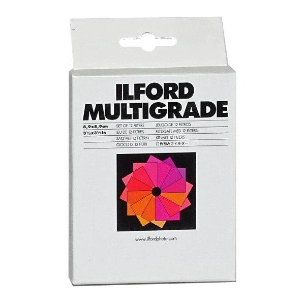 Multigrade Filtersatz 8.9x8.9cm Anzahl 12 (00-5), 1 Satz