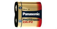 Photo Lithium Batterie- CR-P2 / DL223 - (6 Volt / 1400 mAh)
