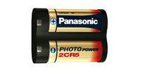Photo Lithium Batterie 2CR5 / DL245 - (6 Volt / 1400 mAh)
