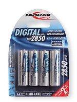 Ansmann NiMh Akku Mignon (AA /HR6) - 2850 mAh 1,2 V...