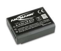 Ansmann Lithium-Ionen Akku Typ LP-E10 - für Canon...