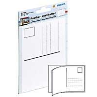 Postkarten Aufkleber Packung mit 10 Etiketten 10x15 cm