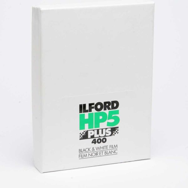 Ilford S/W Film HP 5 Plus, Planfilm 20,3x25,4cm (8x10), 25 Blatt