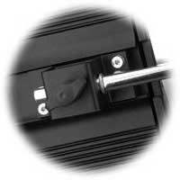 Hedler Reflexschirmhalter für H-, HS-, D- + F Modelle