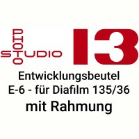 Dia Entwicklungsbeutel Studio 13 E-6 DIA Kleinbild mit...