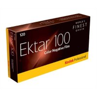 Kodak Ektar 100, Negativ Farbfilm 5x120, Rollfilm  (MHD...
