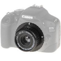 Holga Kunststoff Wechselobjektiv 8 / 60 mm für Canon...