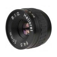B.I.G. Helioret 4,5/50 mm Makroobjektivkopf mit M 39...