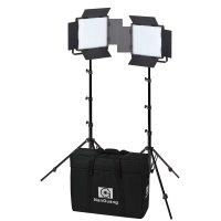NANLITE LED Set 600CSA, Double Kit 2 Leuchten 600CSA +...