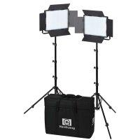 NANLITE LED Set 900CSA, Double Kit 2 Leuchten 900CSA +...
