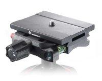 Manfrotto- Top Lock Schnellwechselsystem Adapter mit Q6...