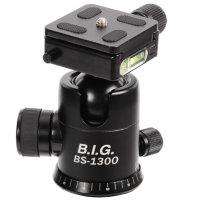 B.I.G. Kugelkopf BS-1300 incl. Schnellwechselplatte, max....