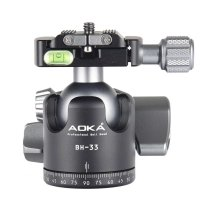 AOKA BH33, Kugelkopf mit Friktion max. Traglast 18 kg