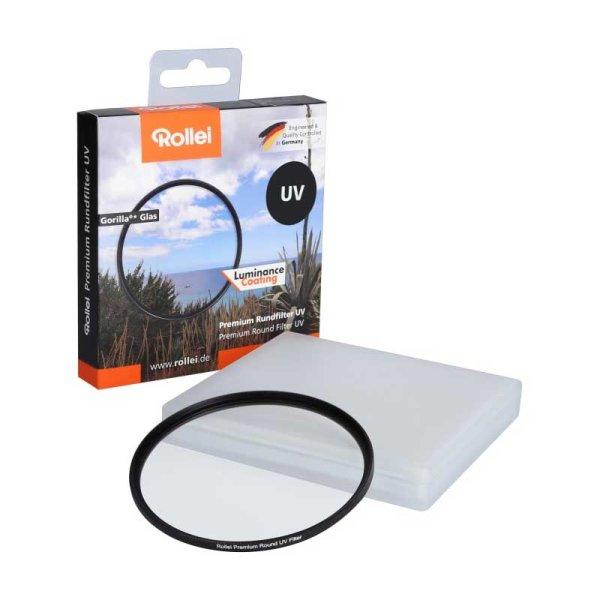 Rollei Premium UV Filter | Gorilla® Glas | Luminace Coating