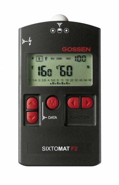 Gossen SIXTOMAT F2 Belichtungsmesser für Blitz-/Dauerlicht