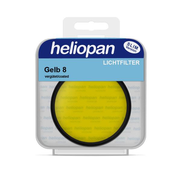 Heliopan S/W Filter 1008 gelb mittel (8) | vergütet
