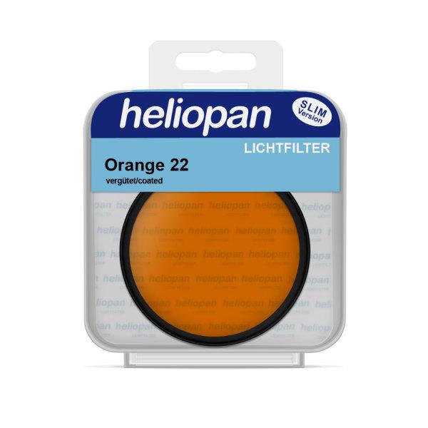 Heliopan S/W Filter 1022 orange (22)   vergütet