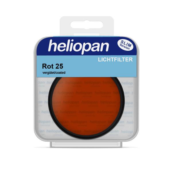 Heliopan S/W Filter 1025 rot hell (25) | vergütet