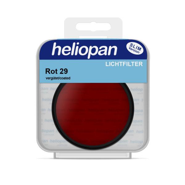 Heliopan S/W Filter 1029 rot dunkel(29)   vergütet