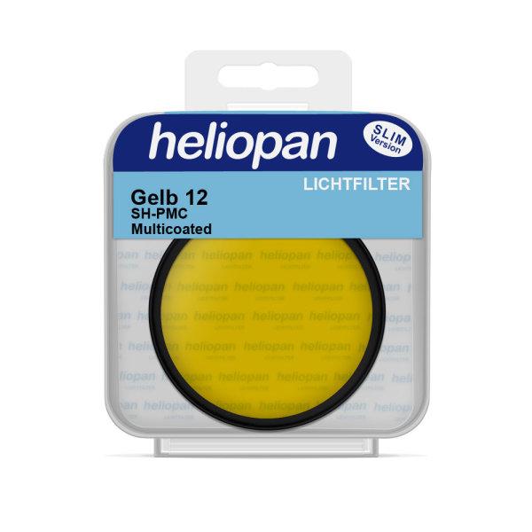 Heliopan S/W Filter 1062   gelb-mittel-dunkel (12)   SH-PMC vergütet